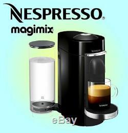 Nespresso Vertuo Plus Coffee Machine M600 Piano Black Ref 11385