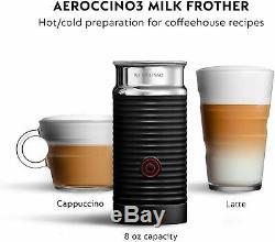 Nespresso by De'Longhi ENV150BMAE VertuoPlus & Aeroccino Milk Frother New