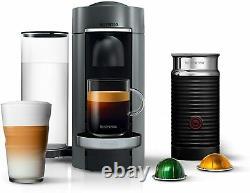 Nespresso by De'Longhi ENV155TAE VertuoPlus & Aeroccino Milk Frother New