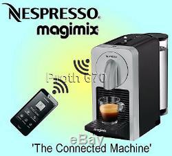 Nespresso by Magimix Prodigio Smart Coffee Machine M135 Silver Ref 11375