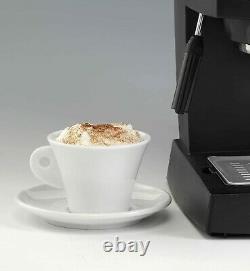 New Pro Espresso Barista Coffee Maker Machine 4 Cups Latte Maker Filter Home UK