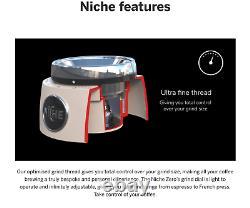 Niche Zero Coffee Grinder WHITE UK Plug BRAND NEW Unopened Next Day Delivery