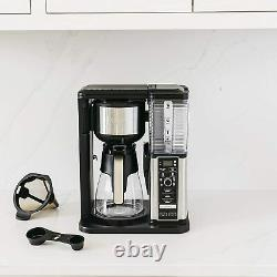 Ninja Specialty Coffee Maker, with 50 oz. Glass Carafe, Black and St. Steel