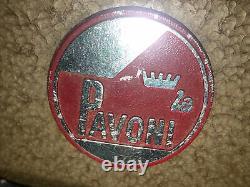 Old Vintage La Pavoni Espresso Coffee Chrome Machine Made In Italy Super Nice