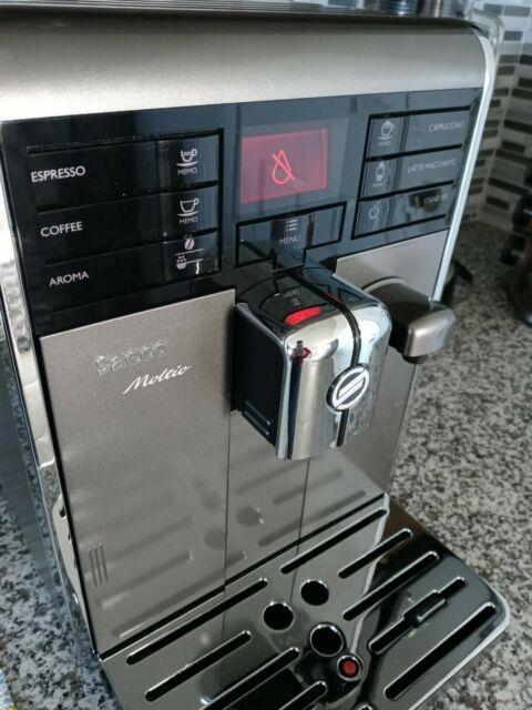 Philips Saeco Moltio Hd8869 Super-automatic Espresso Machine (read Description)