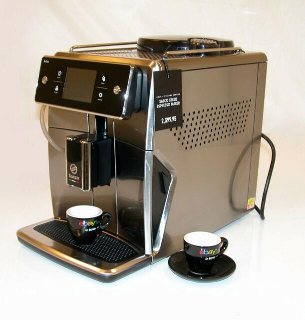 Philips Saeco Sm7685/04 Xelsis Stainless Automatic Coffee Machine Store Demo