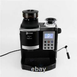 Professional All-in-One Espresso Coffee Machine Americano Maker Bean New Grinder