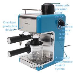 Professional Home Automatic Steam Espresso Cappuccino Latte Coffee Maker Machine