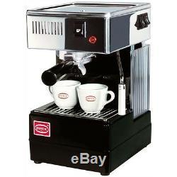 Quick Mill 820 Espresso Cappuccino 2 Cups Machine Coffee Thermoblock Black 220V