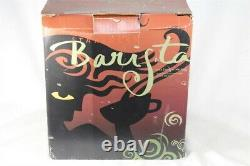 RARE Cobalt Blue Starbucks Barista Espresso Coffee Maker Machine SIN006 In Box