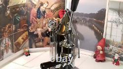 RARE Gaggia Factory G106 La Pavonil Chrome coffee lever espresso machine