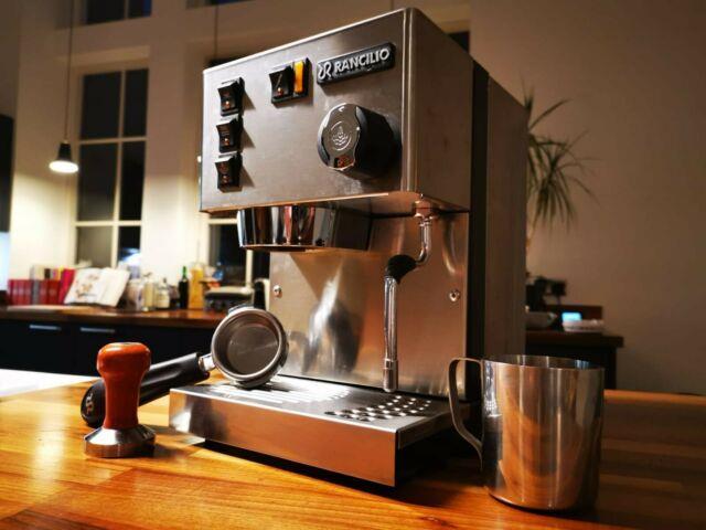 Rancilio Silvia Mk Iii Espresso Coffee Machine