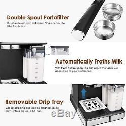 Restaurant Coffee Maker Commercial Espresso Cappuccino Barista Automatic Home