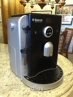 SAECO ESPRESSO ITALIANO FULLY Automatic Espresso, CAPPUCCINO & Coffee MACHINE