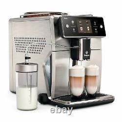 SAECO SM7685 / 00 XELSIS coffee espresso super automatic machine silver steel