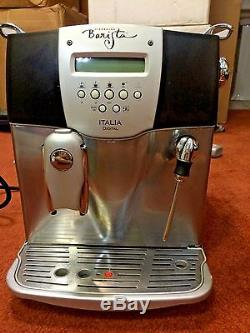 SAECO STARBUCKS BARISTA ITALIA Automatic Espresso, CAPPUCCINO & Coffee machinE