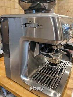 SAGE The Barista Express 1850W Espresso Coffee Machine BES 875 UK No Milk Jug