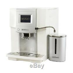 SMART White BARISTA Professional COFFEE MACHINE Espresso Latte Cappuccino