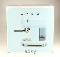 SMEG 50's Retro Style Aesthetic Espresso Coffee Machine 1300W Electric