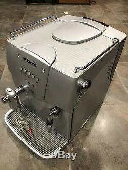 Saeco Incanto Classic Super Automatic Espresso Cappuccino Coffee Machine