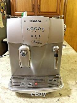 Saeco Incanto Rapid Steam Espresso, Coffee and Cappuccino Machine (ITALIA)