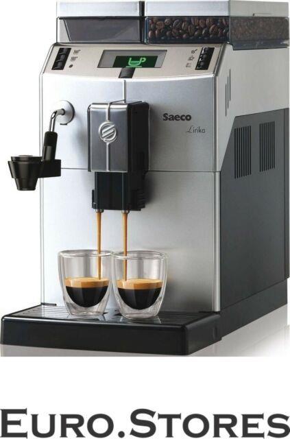 Saeco Lirika Macchiato 10004477 Automatic Coffee Machine Silver 1850w Genuine