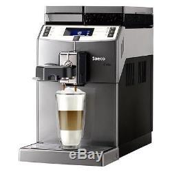 Saeco Lirika compact automatic Cappuccino Espresso coffee maker Titanium color