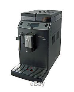 Saeco Lirika compact automatic Cappuccino Espresso coffee maker black RI9840 /01