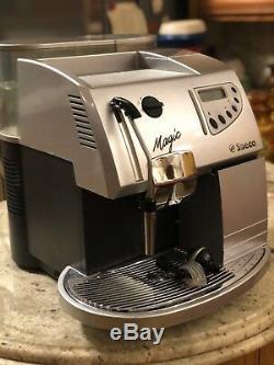Saeco Magic Comfort pLUS Espresso, CAPPUCCINO & Coffee Machine-Silver
