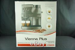 Saeco Vienna Plus Espresso Coffee & Cappuccino Machine Super Automatic Black