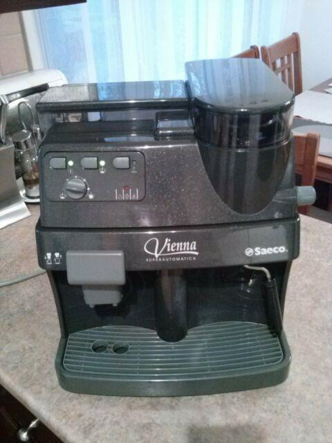 Saeco Vienna Superautomatica Espresso Cappuccino Latte Coffee Machine Refurb