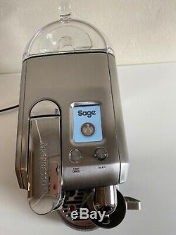Sage Nespresso Creatista Plus Stainless Steel Coffee Machine Pods Holder+ Coffee