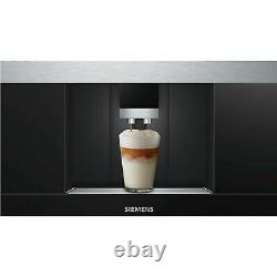 Siemens CT636LES6 iQ700 Wifi Connected Built In Bean to Cup Coffee Mac CT636LES6