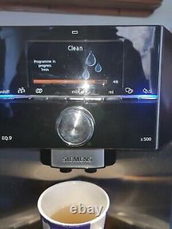 Siemens EQ. 9 TI905501DE Automatic Bean To Coffee Machine/Silver