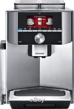 Siemens TI907501DE EQ. 9 automatic cappuccino Espresso coffee machine silver