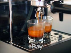 Stainless Steel Espresso Machine Maker Cappuccino Semi-Automatic Coffee Makers