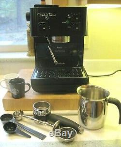 Starbucks Barista Espresso Coffee Cappuccino Machine SIN006 Saeco Black Stainles