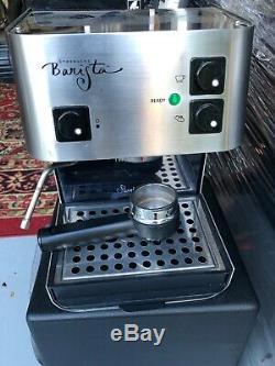 Starbucks Barista Espresso Coffee Capuccino Machine Saeco