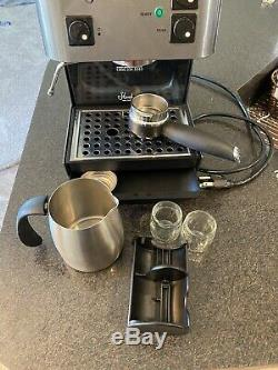 Starbucks Barista Espresso Machine Coffee Maker Grey Saeco SIN 006