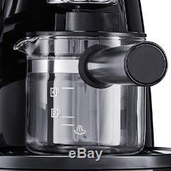 Steam Espresso Coffee Maker Automatic Personal Electric Latte Cappuccino Machine