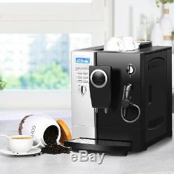 Super-Automatic Espresso Machine Cappuccino Coffee Machine 19Bar with Milk Frother