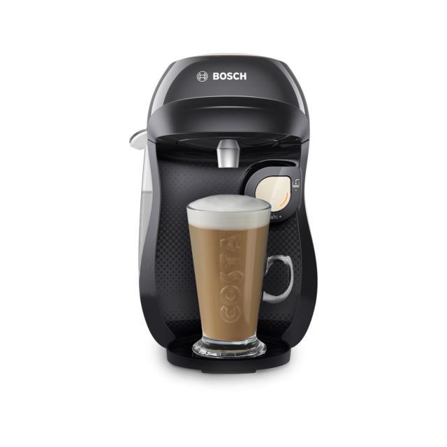 Tassimo By Bosch Tas1007gb Happy Pod Coffee Machine Cream & Black