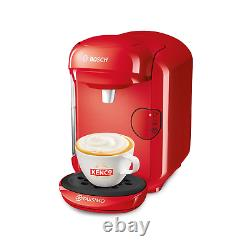 Tassimo by Bosch TAS1403GB Vivy 2 Pod Coffee Machine Red