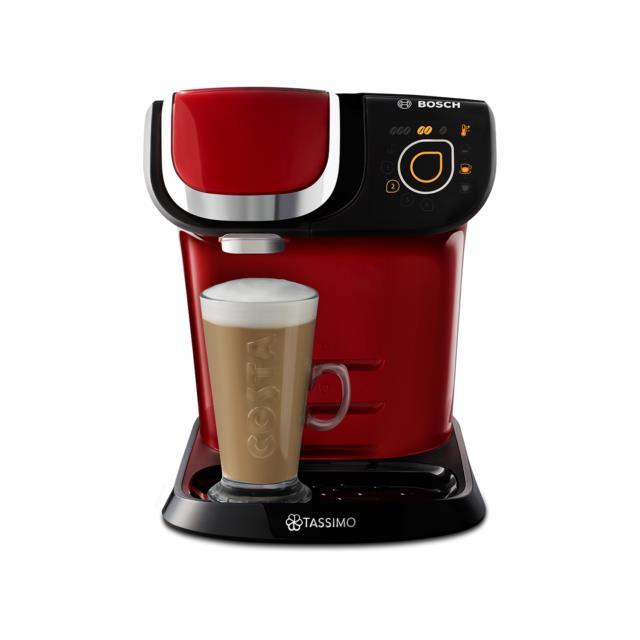Tassimo By Bosch Tas6503gb My Way Pod Coffee Machine Red