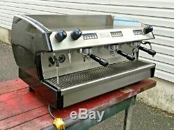 Used Elite 3 Group Espresso Expresso Machine Cappuccino Latte Coffee