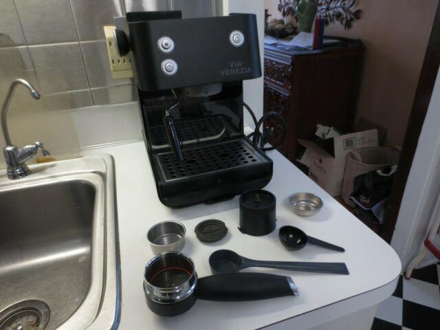 Via Venezia Saeco Sin 006xn Espresso Machine Coffee Maker Portafilter, Starbucks