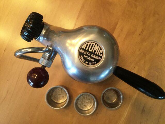 Vintage Atomic Espresso Cappuccino Stove Top Coffee Maker Original, Italian