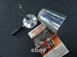 Vintage Cappuccino Express Aluminium Italian Stove Top Coffee Maker Manual Retro