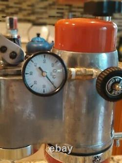 Vintage Cimbali Microcimbali Lever Espresso Coffee Machine La Pavoni