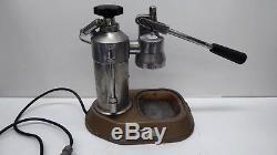 Vintage La Pavoni Italy Lever Espresso Coffee Machine Cappuccino